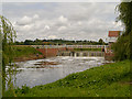 SO8832 : Sluice, Mill Avon by David Dixon