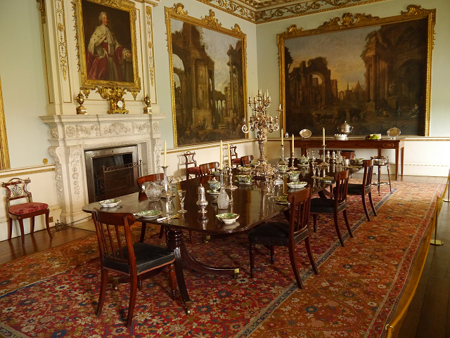 Dining Room Shugborough Hall 169 David Dixon Cc By Sa 2 0
