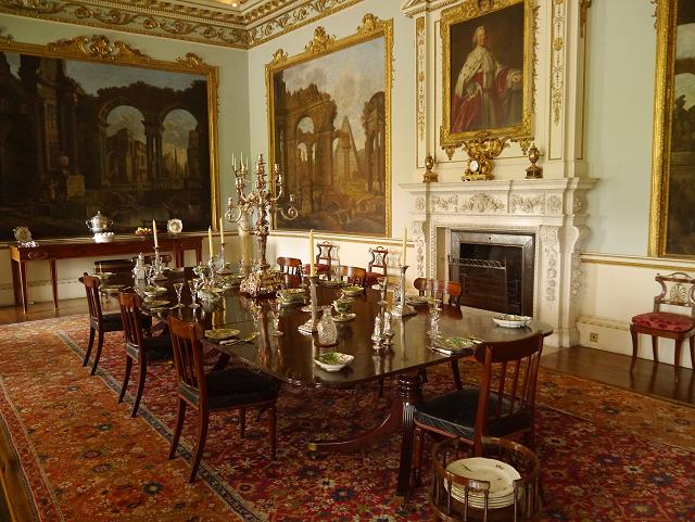 Shugborough Hall Dining Room 169 David Dixon Geograph Britain And Ireland