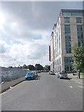 SE2932 : Ingram Street - looking towards Sweet Street by Betty Longbottom