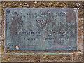 TQ0107 : Plaque on Arundel Bridge by David Dixon
