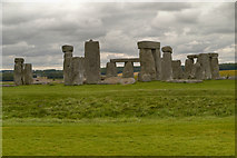 SU1242 : Stonehenge from the East by David Dixon
