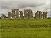 SU1242 : Stonehenge from the North by David Dixon