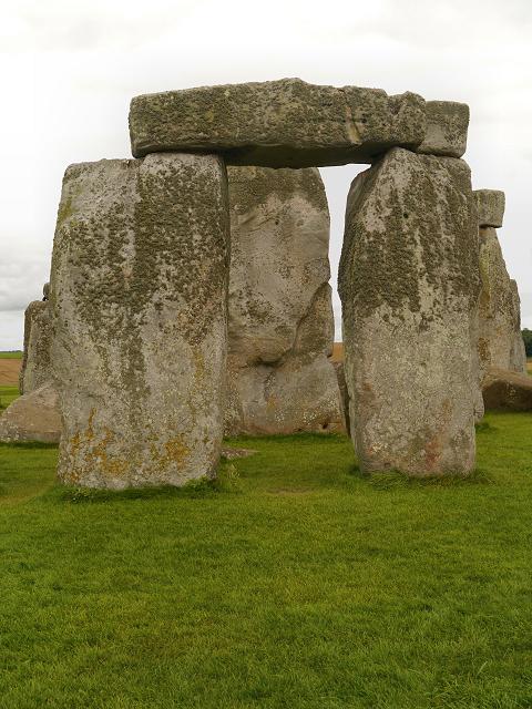 """Stonehenge  - """"hanging stone"""""""