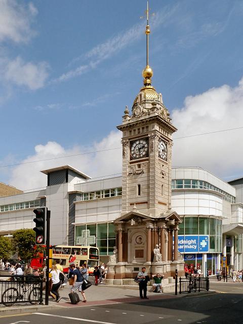 Brighton Jubilee Clock Tower 169 David Dixon Geograph