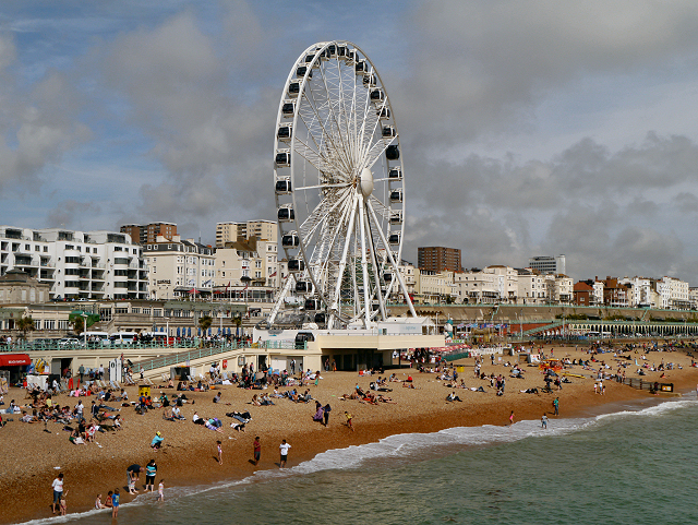 Brighton Wheel and Beach