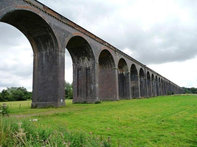Welland Viaduct, Northamptonshire