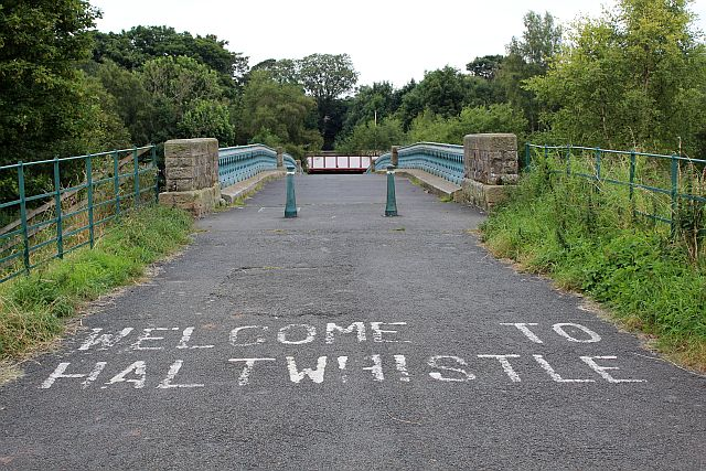 Haltwhistle welcomes cyclists and walkers