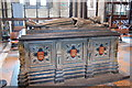 SO8554 : Tomb of King John, Worcester Cathedral by Julian P Guffogg