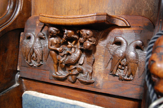 Misericord, Worcester Cathedral