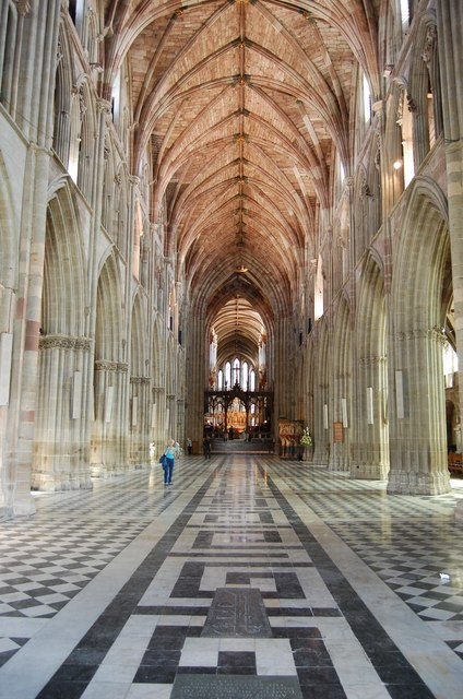 Worcester Cathedral Nave