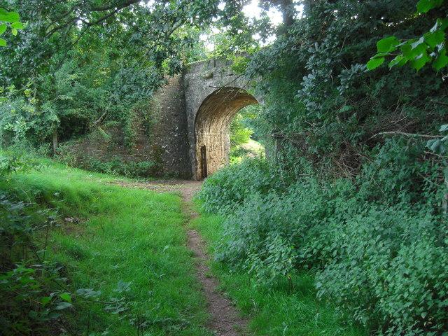 Bridge over footpath at Coleford