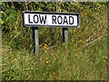 TM4169 : Low Road sign by Adrian Cable