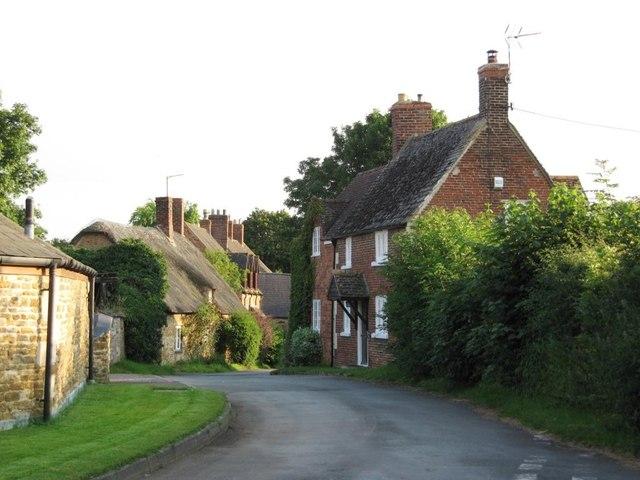 The southern end of Main Street, Egleton
