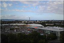 NT2274 : Superstore and Craigleith Retail Park, Edinburgh by Chris Morgan