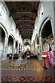 TF6119 : Interior of the Church of St Margaret, King's Lynn by Dave Hitchborne
