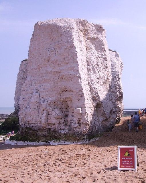 Chalk stack, Botany Bay