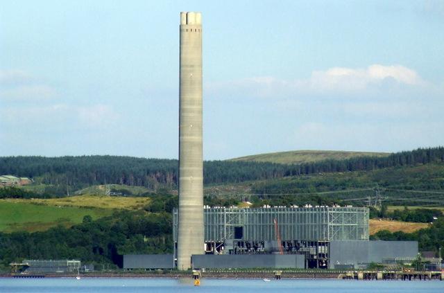 Inverkip Power Station from Innellan