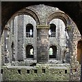 TQ7468 : Internal view of Rochester Castle by Patrick Mackie