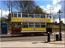 SK3454 : Leeds Corporation tramcar by Andrew Abbott