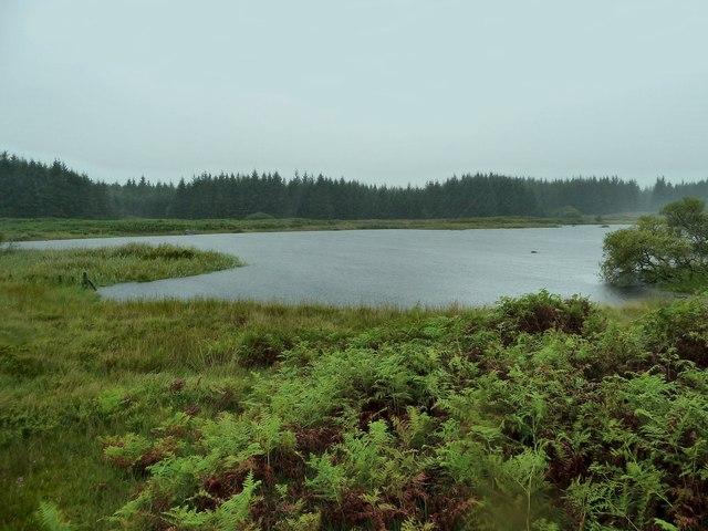 View across Castle Loch