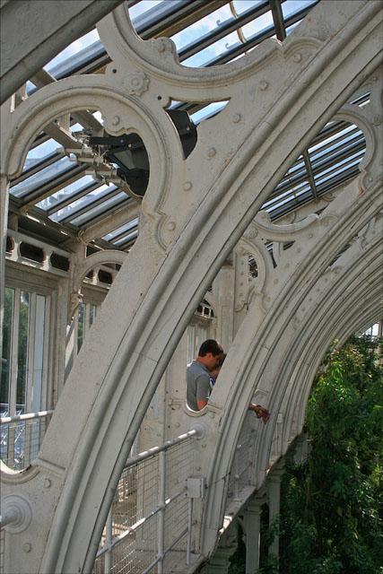 Cast iron arches