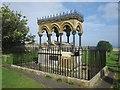 NU1734 : Memorial to Grace Darling, St Aidan's Churchyard by Graham Robson