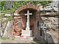 NU1835 : Bamburgh War Memorial by Graham Robson