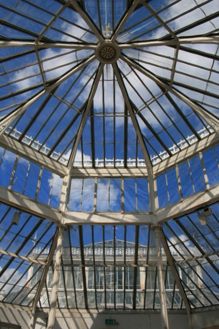 Roof of the Temperate House, Kew