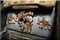 SO7745 : Misericord, Great Malvern Priory by Julian P Guffogg