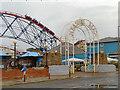 SD3032 : Blackpool Pleasure Beach by David Dixon
