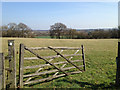 SP1365 : Weathered old timber gate near Greenacres by Robin Stott
