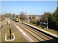 SP1466 : Train arriving at Henley-in-Arden by Robin Stott