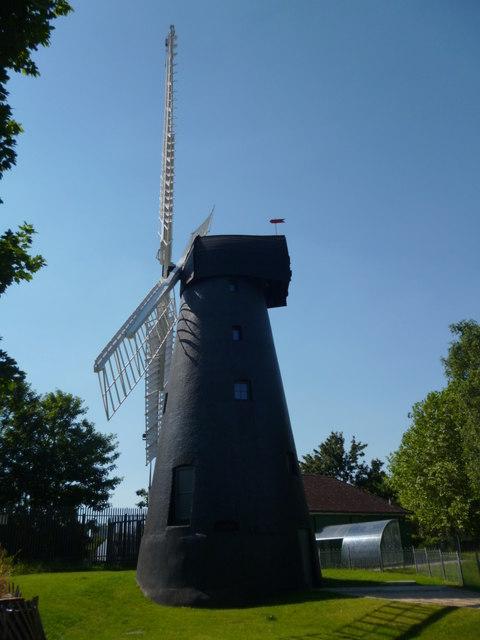 Brixton Windmill, Blenheim Gardens SW2