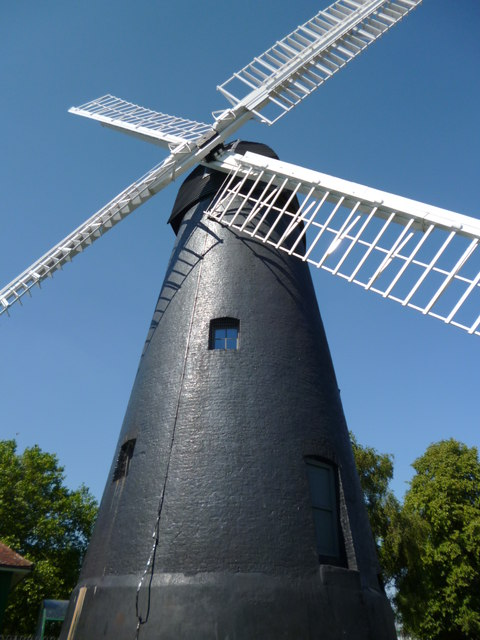 Detail, Brixton Windmill, Blenheim Gardens SW2