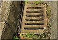 J5063 : Union Foundry grating cover, Ardmillan near Comber by Albert Bridge
