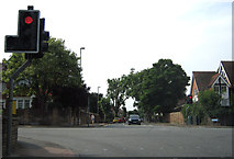 SO8317 : Gloucester road junction by Peter Kazmierczak