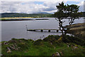 NM8946 : Jetty at NE end of Lismore by Ian Taylor