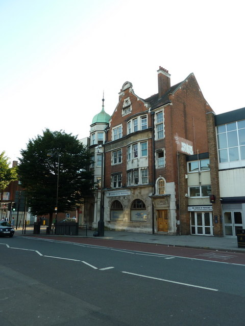 Formerly the Royal London Friendly Society building on Junction Road, Upper Holloway