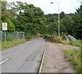 ST2997 : Two bridges over the Afon Lwyd, Chapel Lane, Cwmbran by Jaggery