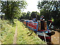 SK2801 : Working Narrow Boat Hadar moored at Grendon by Keith Lodge