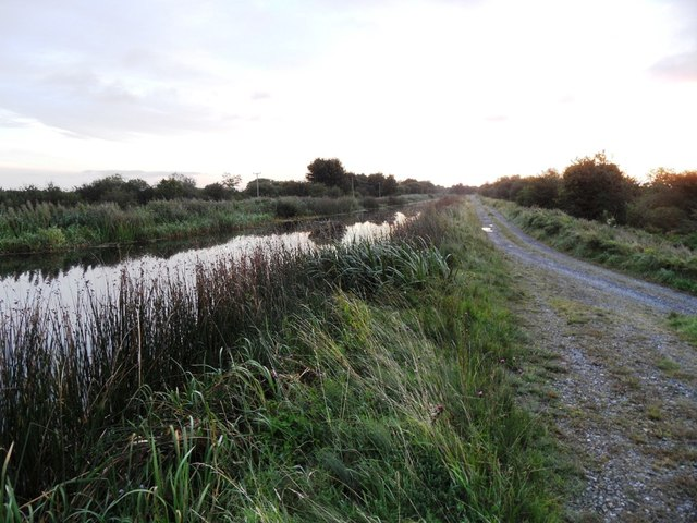 Grand Canal in Derries, Co. Offaly