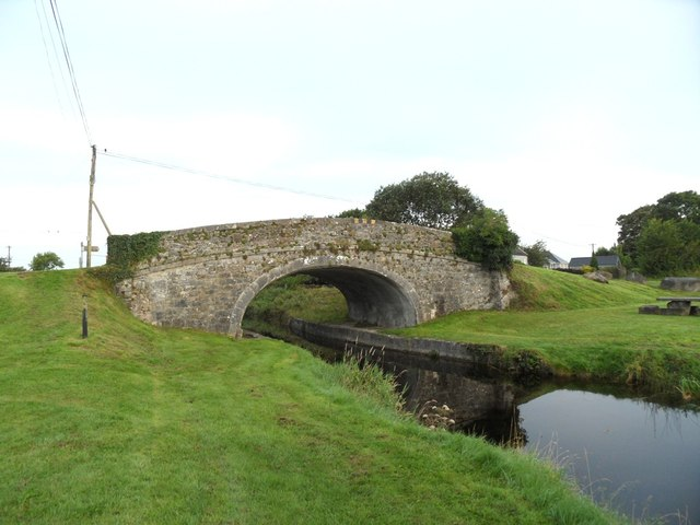 Gallen Bridge on the Grand Canal in Gallen, Co. Offaly