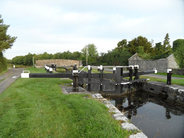 32nd Lock & Glyn Bridge on the Grand Canal in Co. Offaly
