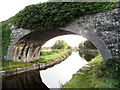 N0822 : Grand Canal through Samuel Judge's Bridge in Ballysheil, Co. Offaly by JP
