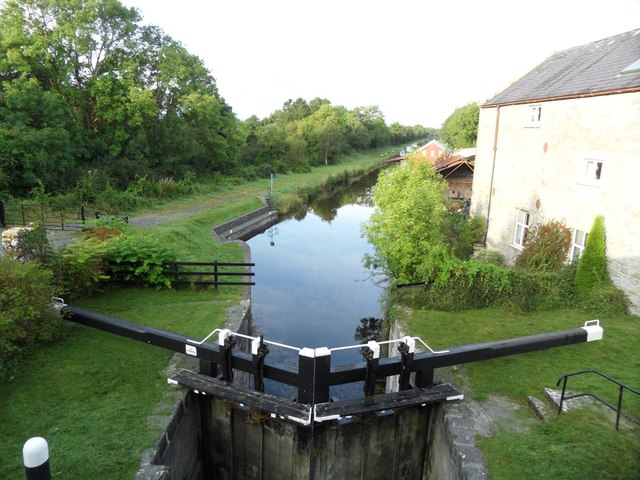 Grand Canal from above the 33rd Lock in Belmont, Co. Offaly