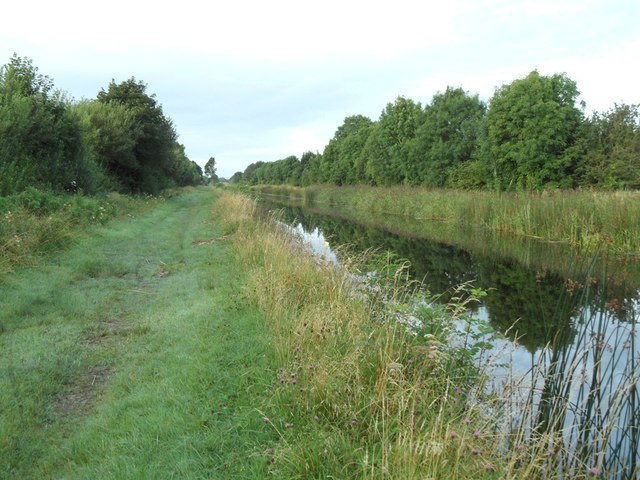 Grand Canal in Ballyshane, Co. Offaly