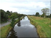 N0520 : Grand Canal from L'estrange Bridge in Clonony, Co. Offaly by JP
