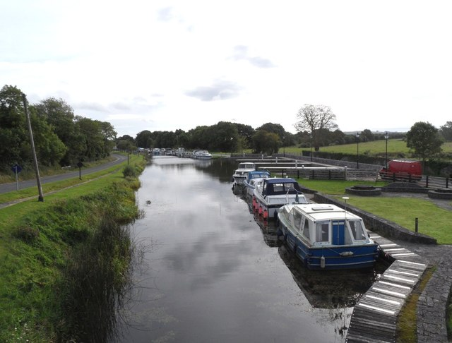Shannon Harbour on the Grand Canal in Co. Offaly