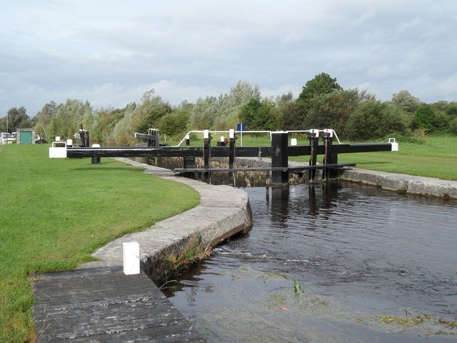36th Lock on the Grand Canal in Shannon Harbour, Co. Offaly